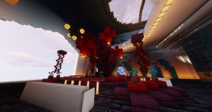 Mall Crimson Tree