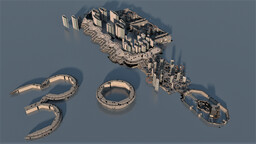 City of New Mombasa Minecraft Map & Project