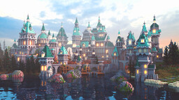 Oakwell Castle Minecraft Map & Project