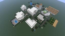 Modern Looking village: By appmine Minecraft