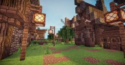 Medieval VIllage Timelapse Minecraft Map & Project