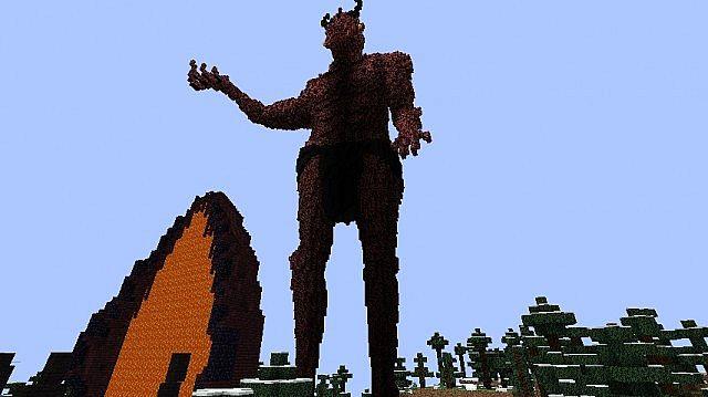 Mehrunes Dagon Minecraft Project