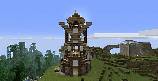 Steampunk Windmill Minecraft Project