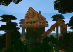 The Walking House of Fangorn Minecraft