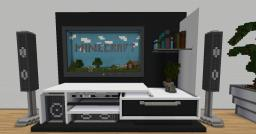 Modern Room - 1:18 Scale Minecraft Project