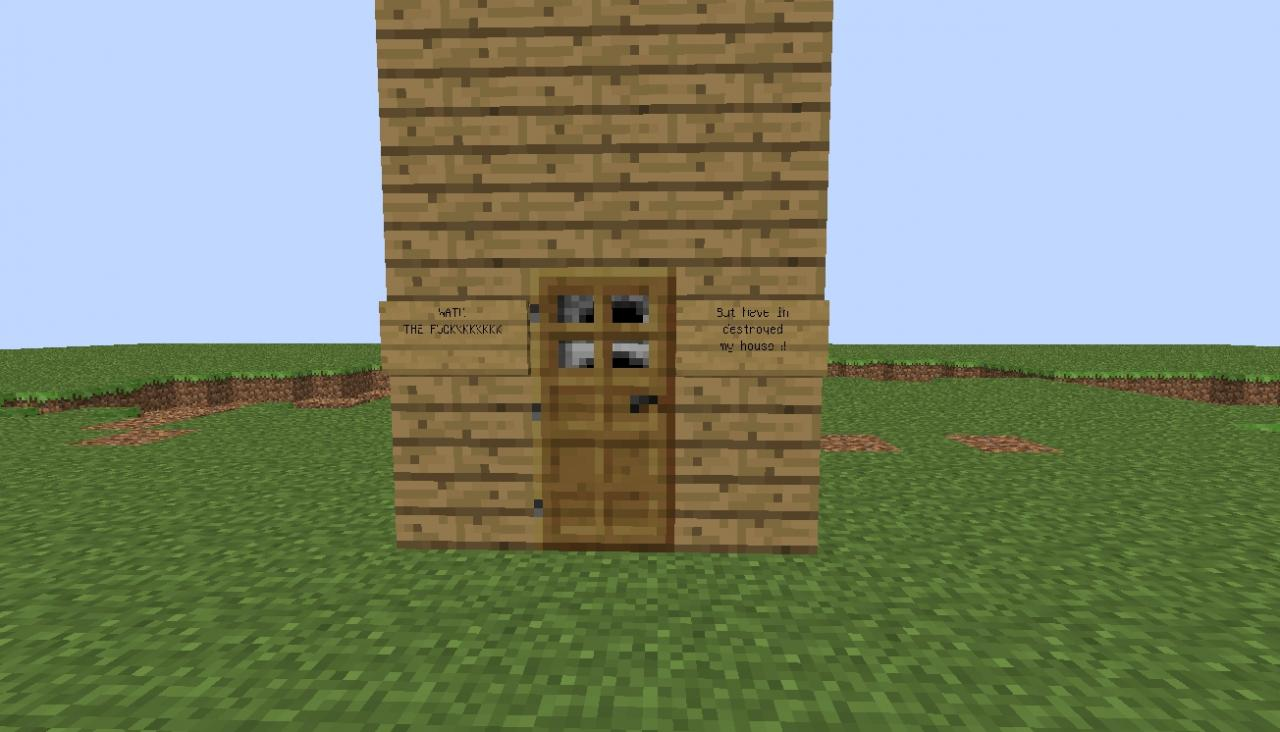 Very small house minecraft project Very small homes