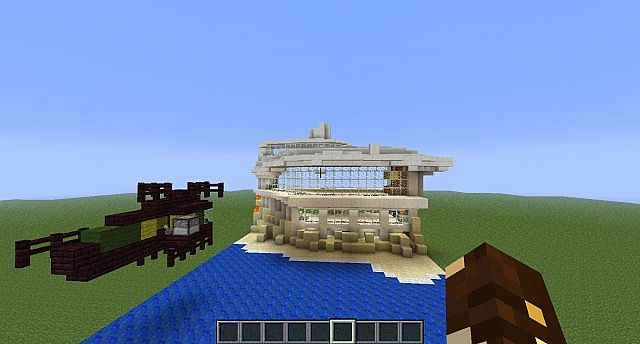 Malibu Mansion Minecraft Project