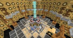 Flight Control 9th/10th Doctor's Console Room Minecraft Map & Project