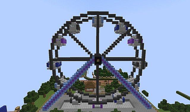 Saplingpark Theme park Minecraft Server  Saplingpark The...