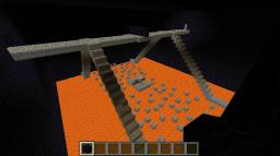 Death by lava- 1v1 pvp over lava Minecraft Map & Project