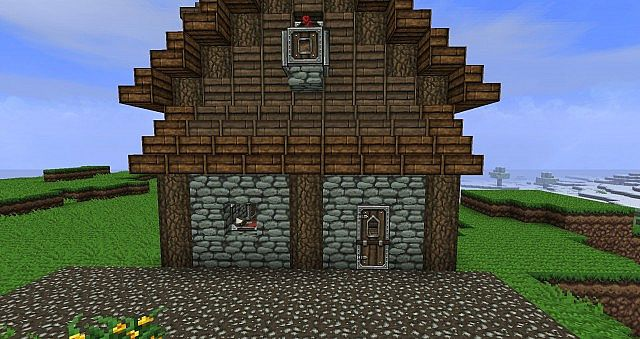 middle age village (wip) minecraft project