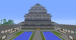Asian style castle/city Minecraft Map & Project