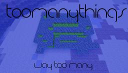 (DISCONTINUED)[1.5.2 FORGE] TooManyThings v1.8 (TONS OF NEW ITEMS, ORES, AND SPECIAL WEAPONS) Minecraft