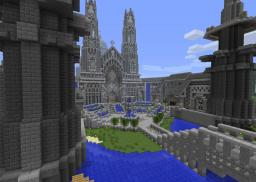 Cathedral : My first big build ever (+Download) Minecraft Map & Project