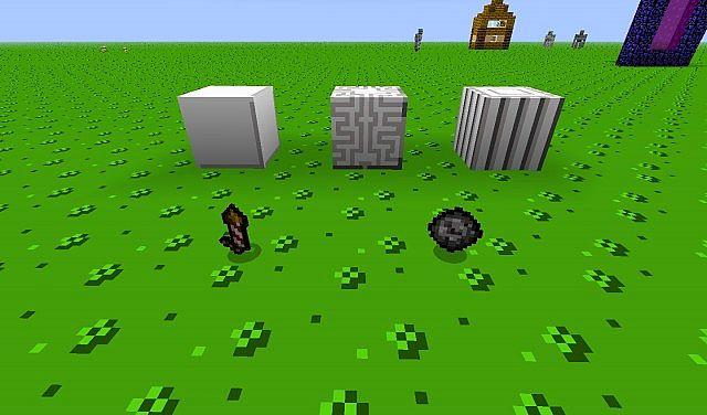 New quartz blocks and firework graphics!