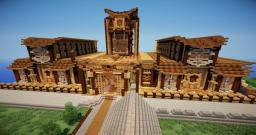 Lendaria: A Minecraft Roman/ Japanese Build. Minecraft Project