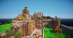 Althalos: A Minecraft Medieval Build. Minecraft Project