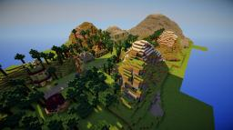 Abandoned Dragon Village Minecraft Project