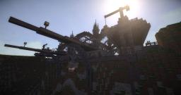 Steampunk Airship Terminal Minecraft Project