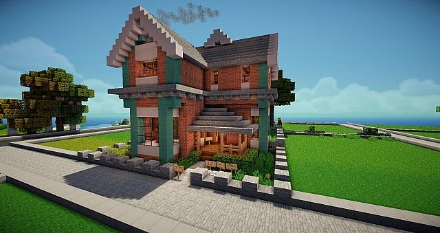 Small Victorian House Minecraft Project