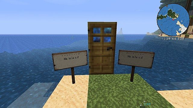 The portal to the mainland.