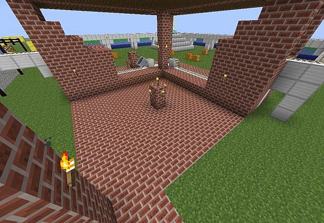 The Platform for minecart tours