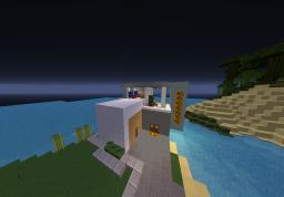 Little Modern House Minecraft Map & Project