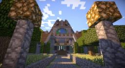 Pristine Courtyard Minecraft Map & Project