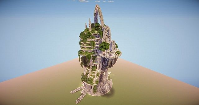 Ecotower skytree minecraft project ecotower skytree front view voltagebd Images