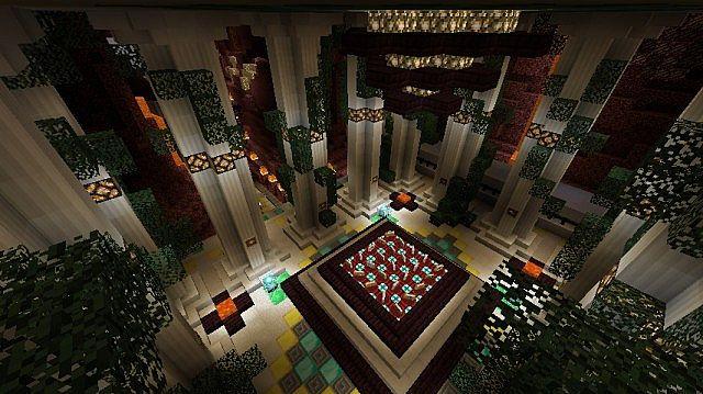 Interior of Shrine