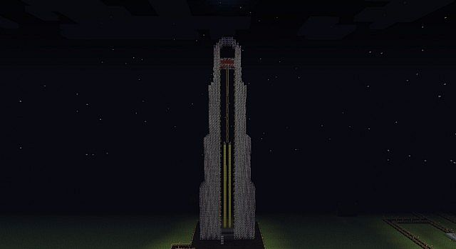Minecraftiyama Final Stage Tower