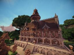 Gothic Town Hall Minecraft Map & Project
