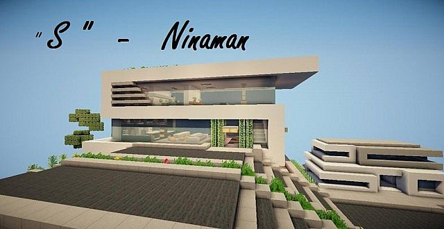 S Modern Concept House Ninaman Minecraft Project