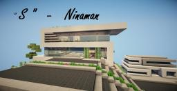 """ S "" - Modern Concept  House - Ninaman Minecraft Map & Project"