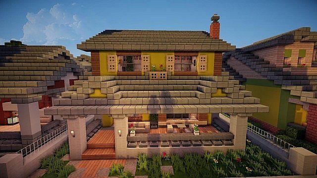 Bungalow Sorta Xd Historic Build Ninaman Minecraft