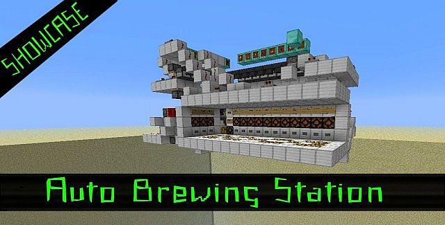 Auto Brewing Station Minecraft