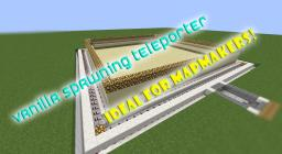 Vanilla Spawn Teleporter Minecraft Map & Project