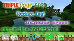 How to Reduce Lag and Speed Up Your Minecraft! Minecraft Blog Post