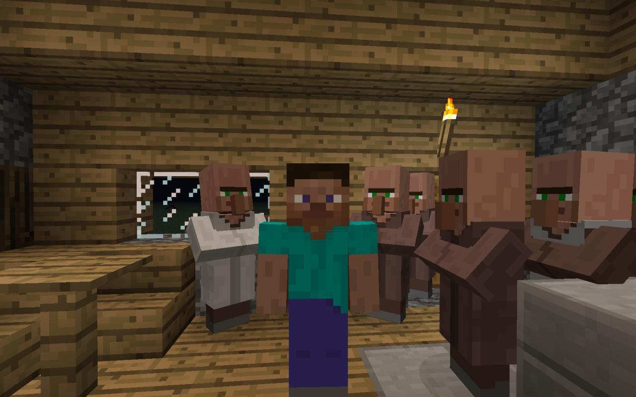 Demonic Villagers Minecraft Mod