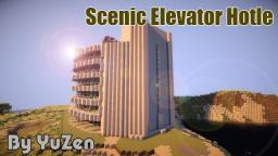 Scenic elevator Hotel Minecraft Map & Project