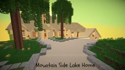 Mountain Side Lake Home (TBS app) Minecraft Map & Project