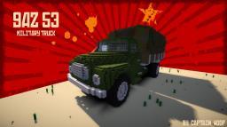 GAZ 53 Military Truck Minecraft