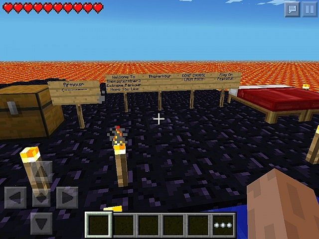 themasteminer3 Parkour (Adventure) (Minecraft PE) Minecraft Project