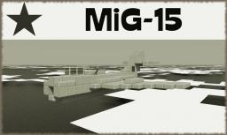 MiG-15 [Jet Fighter] Minecraft Project