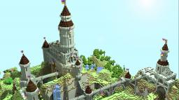 A Mountain Castle Minecraft Map & Project