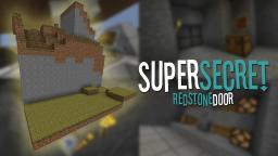[VIDEO] [UNDETECTABLE] Super Secret Redstone Door Minecraft Map & Project