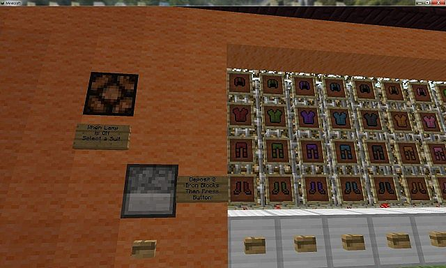 Redstone clothing store minecraft project for Craft com online shopping
