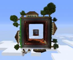 Square world - four seasons + World save Minecraft Map & Project
