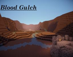 Blood Gulch Halo map Minecraft Project