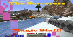 Sorcerers Magic Staff Minecraft Mod